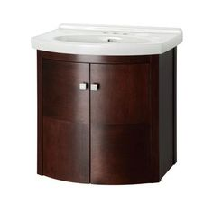 Foremost International - Denville 25 Inch  Wall Hung Vanity Combo - DEMWH2519 - Home Depot Canada