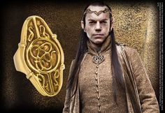 Elrond's Gold Council Ring - Noble Collection