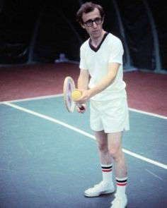 Woody Allen Annie Hall Playing Tennis Photo Or Poster Halloween Costumes Glasses, Costumes With Glasses, Woody Allen, Jennifer Jason Leigh, Tennis Photography, Video Photography, The Escapists, Tennis Photos, Annie Hall
