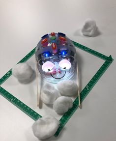Vinterskoj med Blue-Bot! – Hospedagogen tipsar! Preschool Math, Kindergarten, Bee Bop, Coding For Kids, Steam Activities, Crafts For Kids, Classroom, Appar, Blue