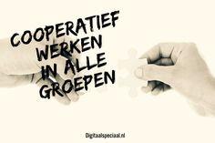 Coöperatief werken vanaf groep 1 @digitaalspeciaal.nl