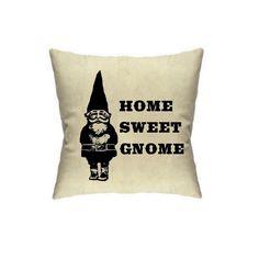 3c293ce80fda Gnome Pillow Cover Gnomes Pillows Decor Housewares by MoxieMadness Pillow  Forms