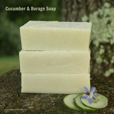 Cucumber Soap Handmade