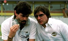 Gordon Murray and Bernie Ecclestone  Brabham F1 Team