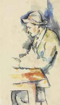 Paul Cezanne, Joueur de cartes