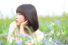 """Flower Bookmark 2"" #IU #LeeJieun #Korean #singer #musician #songwriter #actress  #producer #Uaena"
