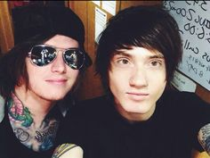Ben Bruce and Denis Stoff- Asking Alexandria