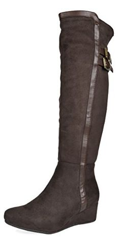 Who exactly doesn't completely love gorgeous wedges?, find out our great variety of zip-back and shoulder strap wedges for any situation! Knee High Boots, Over The Knee Boots, Shiny Boots, Navy Boots, Vegan Boots, Slouchy Boots, How To Stretch Boots, Comfortable Boots, Leather Riding Boots