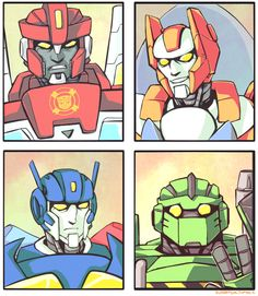 Drew these AAAAGES ago back when I was working on Transformers Rescue Bots. Couldn't post them at the time because of obvious reasons, but I was going through old stuff and found them again. Figure...