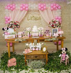 Para inspirar a las niñas llego Minnie un personaje animado de Disney compañera de Mickey, es tan popular que se le puede encontrar como be...