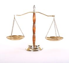 Vintage Scale of Justice Wood with plated by Yesterdayand2day, $28.00
