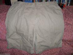 Faded Glory Olive Bark Carpenter Denim Shorts Size 46 Men's NEW  #FadedGlory #CarpenterUtility