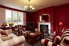 Georgian house living room