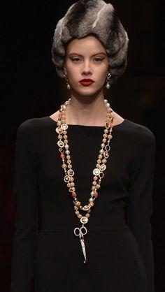 Dolce & Gabbana spring 2016 golden dress.