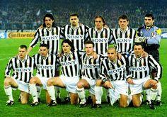 Alessandro Del Piero // 1995/1996 // Torino, 20 marzo 1996 // Semifinale Champions League // Juventus - Real Madrid (2-0) //