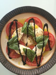 Caprese salad, for when you are craving something fresh.
