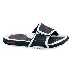 3b5c3f7f9ebfb5 Nike Jordan Hydro 2 Slides in White