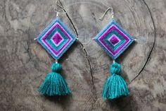 More Ojo De Dios earrings. I love these.