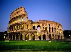 The Colosseum in Rome.