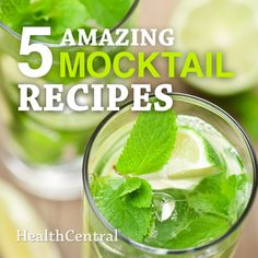 These refreshing mocktails are delicious and refreshing. Make these recipes for your next party, BBQ or even just for fun.