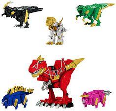 Power Rangers Dino Charge Zord Builder - Megazord