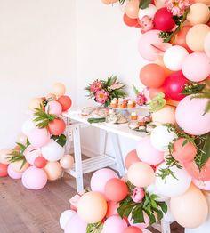 #balloongarland #partyinspiration