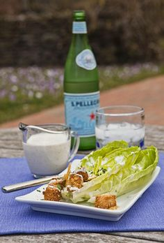 Indoors or out Oneida.com has dishes, glass serveware and flatware to fit every occasion. Homemade Parmesan-peppercorn ranch dressing gets its body and flavor from grated Parmigiano Reggiano® cheese and looks great in Oneida's Simplicity Serveware.