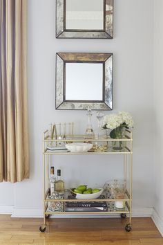 "Excellent ""gold bar cart styling"" info is offered on our website. Read more and you will not be sorry you did Home Bar Decor, Bar Cart Decor, Bar Sala, Brass Bar Cart, Gold Bar Cart, Bar Cart Styling, Built In Bar, Apartment Living, Attic Apartment"
