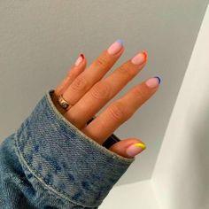 Nageldesign – Nail Art – Nagellack – Nail Polish – Nailart – Nails Unbenannte N… - Nagellack Hair And Nails, My Nails, Teen Nails, Zebra Nails, Fire Nails, Minimalist Nails, Dream Nails, Cute Acrylic Nails, Cute Gel Nails