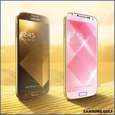 Samsung Galaxy S4 color oro para combatir al iPhone 5S