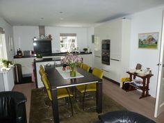 de keuken is veel lichter en ruimer geworden..