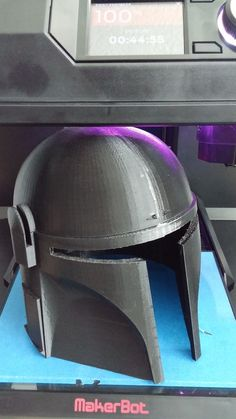 Mandalorian Helmet by Baddog01 http://thingiverse.com/make:94986