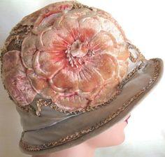 Adorable! Authentic Vintage 20's Flapper Cloche Hat ! | Clothing, Shoes & Accessories, Vintage, Vintage Accessories | eBay!