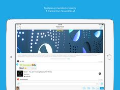 Open messenger is also available on iPad