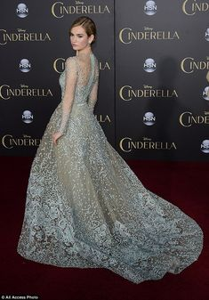 Fit for a princess! The 25-year-old actress, who plays the title role in the fairy-tale ba...