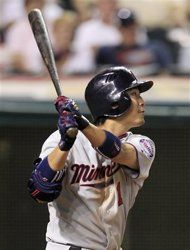 #Twins' Tsuyoshi Nishioka hits SF off #Indians' Chris Perez in 9th inn Tuesday, Aug 7, 2012, leading to 7-5 Twins victory. This is unbelievable- Perez, again, cannot close it down, blowing 2nd save in 3 days.  Indians' losing streak at 11, ties one from 2009; 12 is the record from 1931.  Kipnis w another error, though his error last night was later charged 2 Santana. Cabrera made critical error too.  #Masterson, who has been disappointing, goes 4 Indians at 12:05 Wed 2 avoid tying all-time…