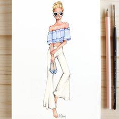 Style of Brush by Gizem Kazancıgil #fashionillustration gizem kazancigil #DrawingFashion