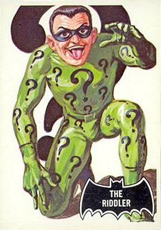 1966 Batman Black Bat Card No.36 The Riddler   Flickr - Photo Sharing!