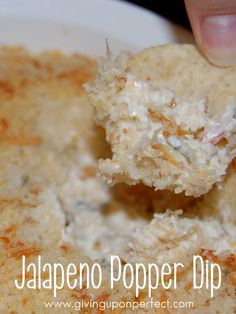 Jalapeno Popper Dip - cheesy, spicy & delicious!