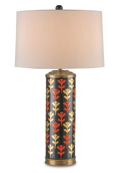 Alexis lamp, new from Currey & Company.