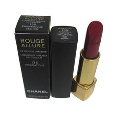 Chanel Rouge Allure Lipstick Luminous Intense Lip Colour 135... (805 UAH) ❤ liked on Polyvore featuring beauty products, makeup, lip makeup, lipstick, fillers, beauty, fillers - black, chanel lipstick and chanel