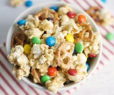sweet & salty marshmallow popcorn