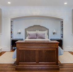 Traditional bedroom by Johnson & Associates Interior Design