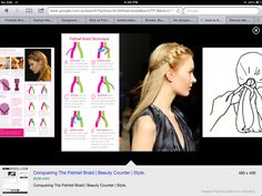 Tutorial! How to fishtail braid! Really easy.