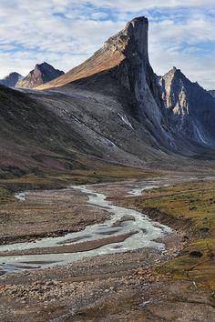Auyuittuq, Baffin Island, Nunavut, Canada