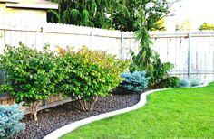 Exelent backyard ideas for small yard small garden landscaping garden design with fast small yard simple Small Garden Landscape, Landscape Curbing, Landscape Design, Abstract Landscape, Simple Garden Designs, Rock Garden Design, Yard Design, Urban House, Dog Friendly Backyard