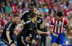 Chelsea hentikan rekor gol Atletico
