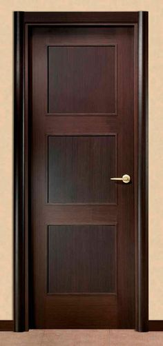 Puerta de madera s lida de 9 luces para colocar en la for Puertas interiores rusticas