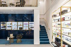 www.annashemuratova.com interior boutique perfumes GIORGIO