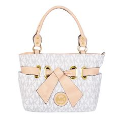 Michael Kors Selma Top-Zip Large Vanilla Totes Outlet